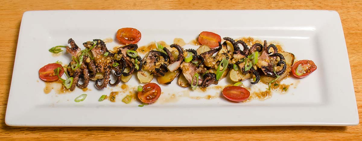Charred Octopus & Fingerling Potatoes