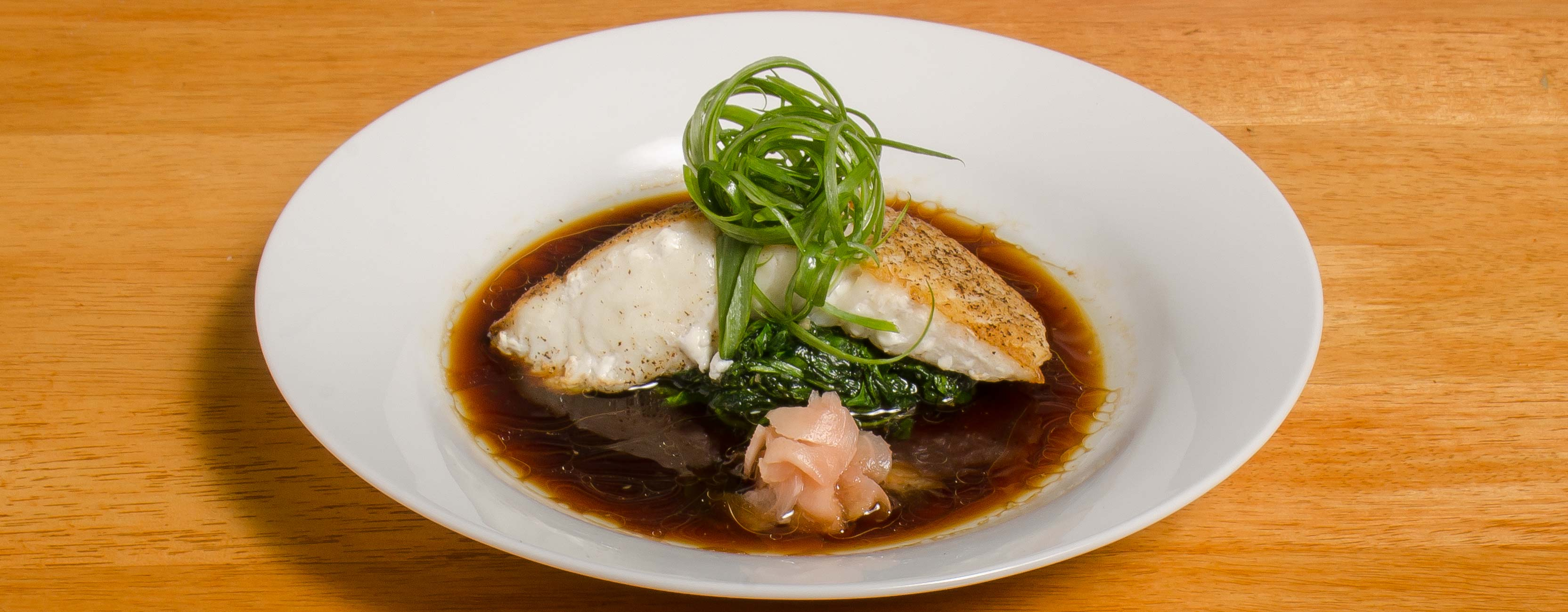 Halibut in Hong Kong Sauce